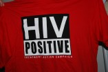 HIV positive T-shirt